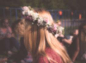 Flowers on Her Hair