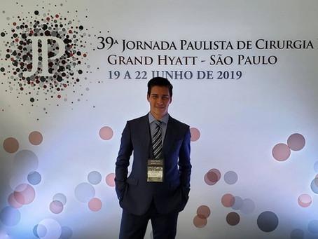 Dr Lucas participa de Jornada Paulista de Cirurgia