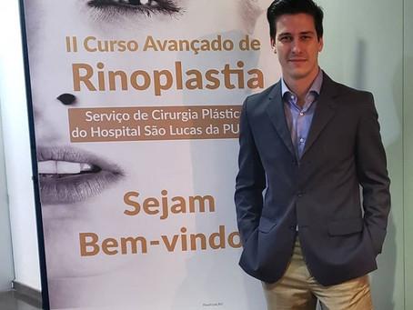 Dr Lucas realiza curso de Rinoplastia