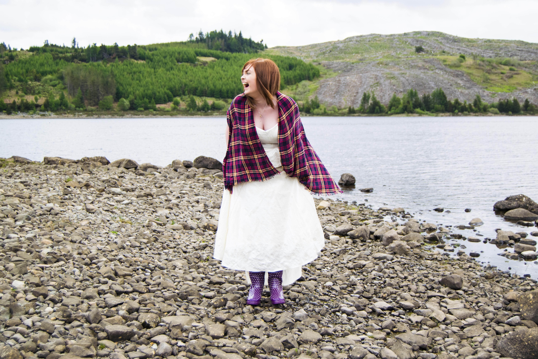 Loch Doon near Cumnock Scotlan