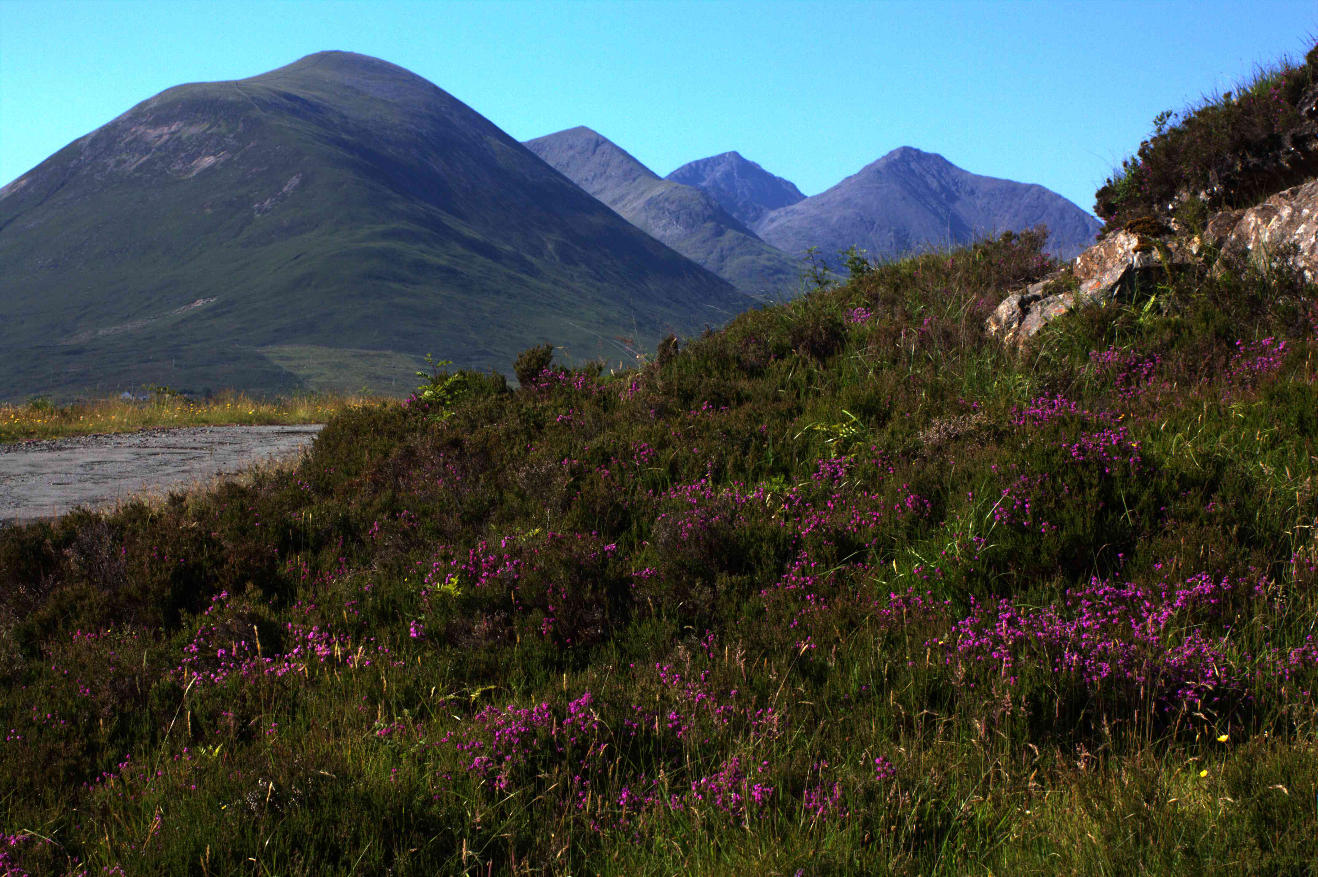 Cycling across Scotland's west coast