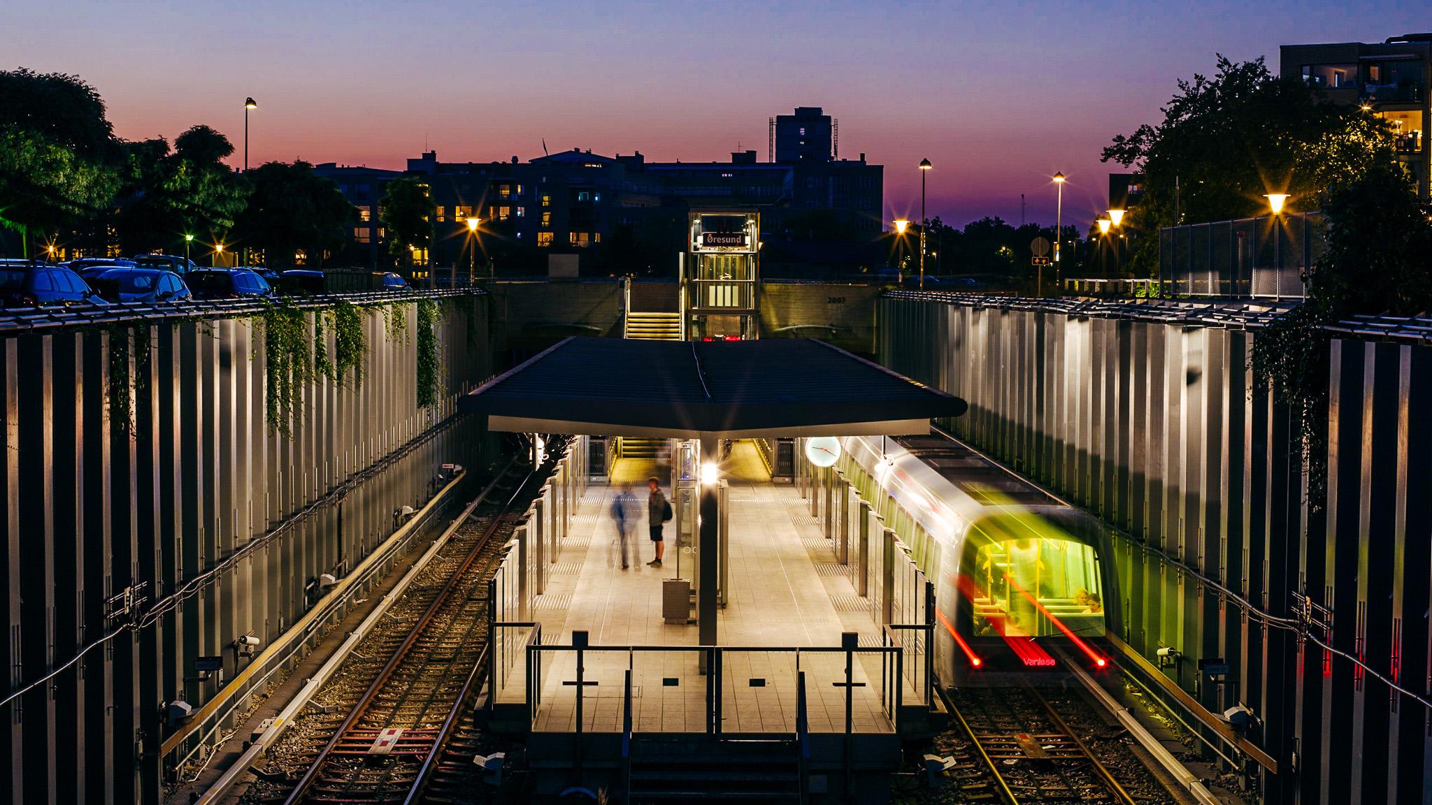 Øresund metro station