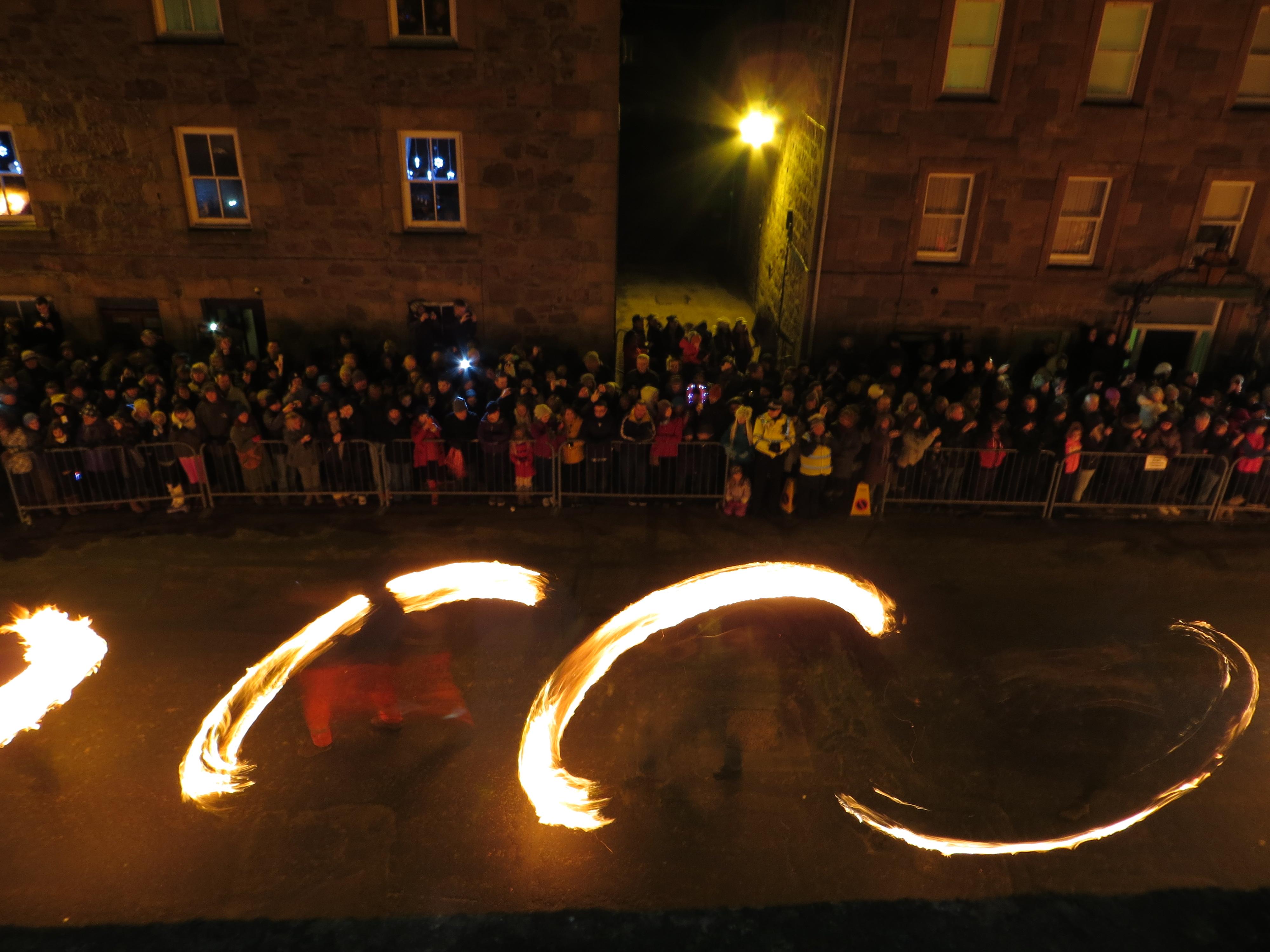 The Fireballs, Stonehaven, Scotland