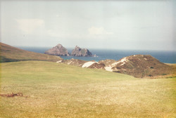 Holywell Bay, Cornwall, UK