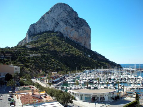 Fishing Harbour - Calpe, Spain