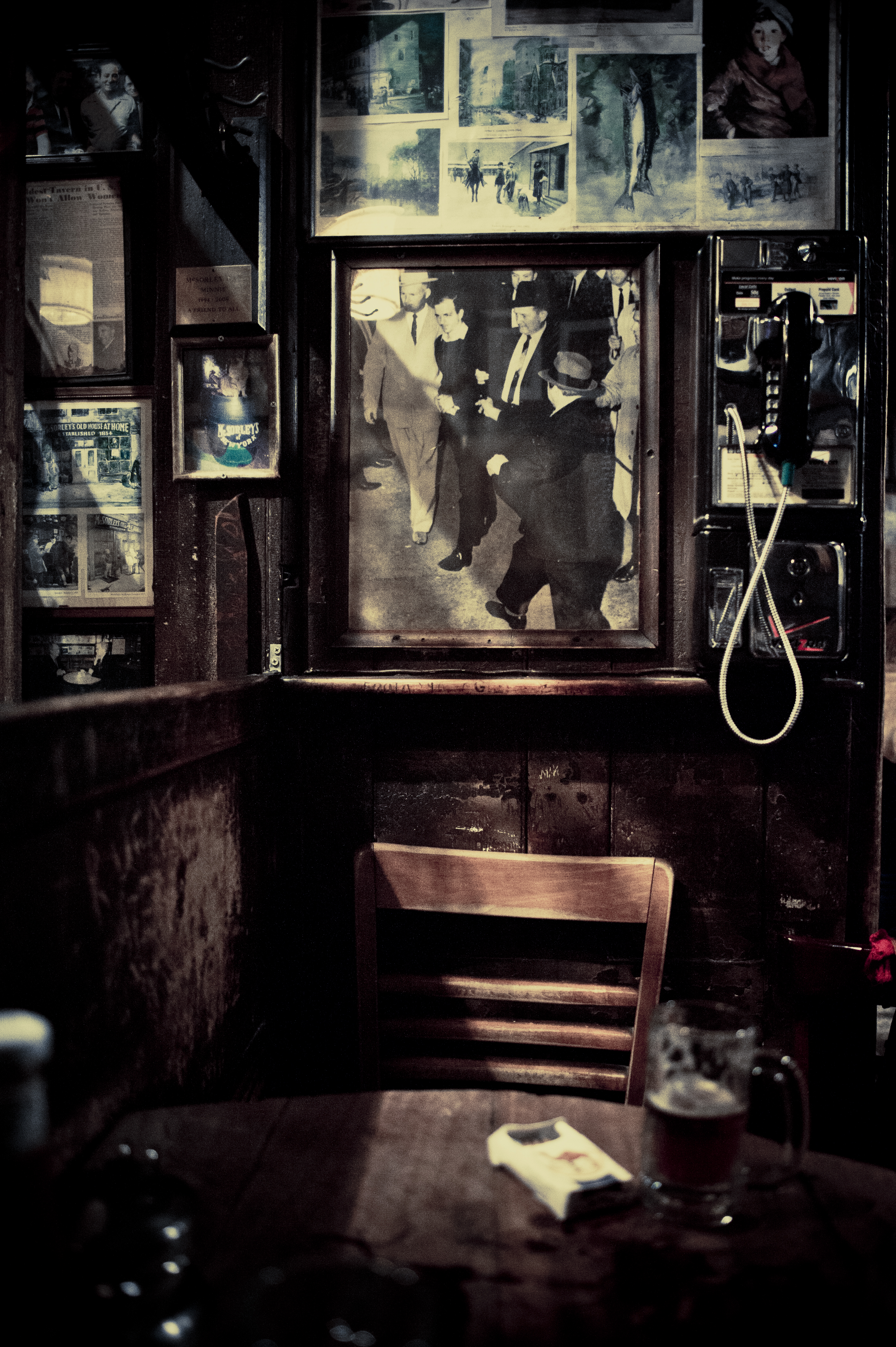 McSorley's, New York City.