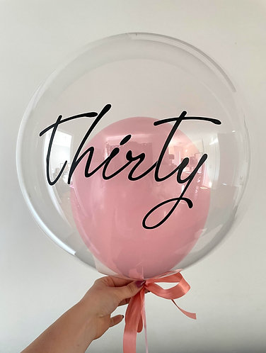 Custom Double Balloon