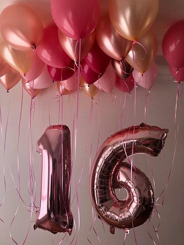Balloon Numbers & Helium Package
