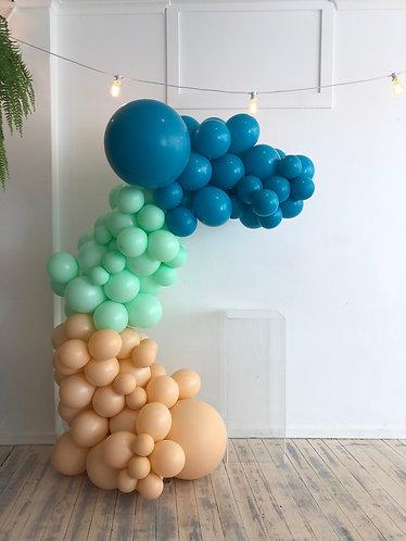 Balloon Half Arch