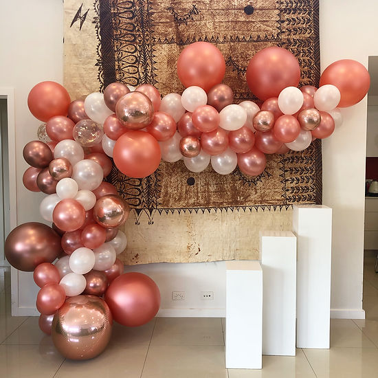Rose gold balloons canberra.JPG