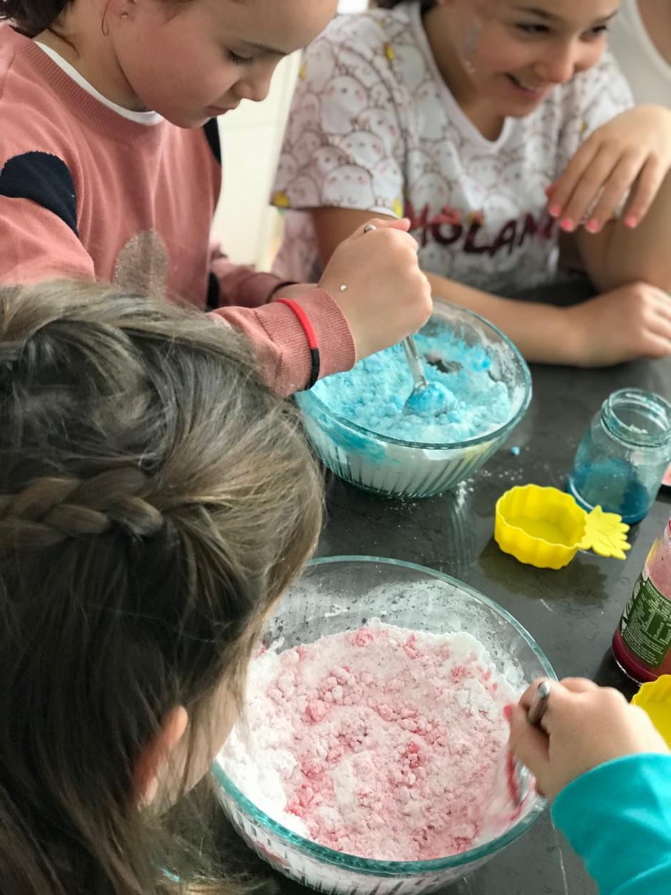 Olivia's 9th Birthday Party | Bath Bomb Party