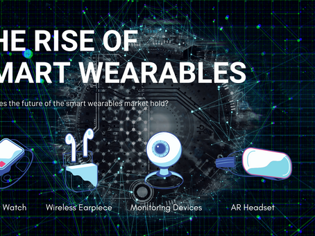 The rise of smart wearables
