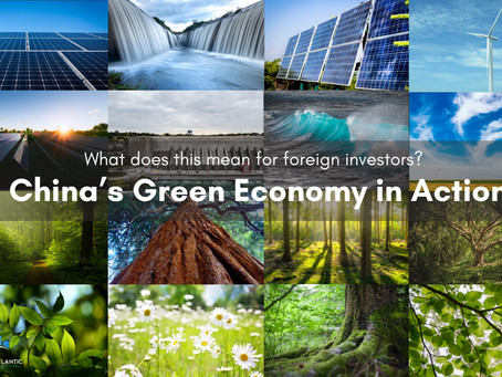 China's Green Economy in Action and What Does This Mean for Foreign Investors?