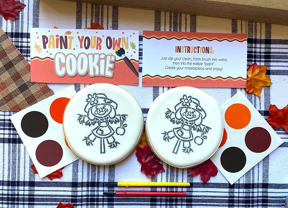 Scarecrow PYO (Paint Your Own Cookie)