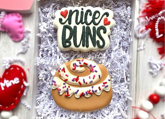 """Nice Buns"" Cookie Gift Set"