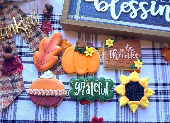 Grateful, Thankful, Blessed - HALF DOZEN