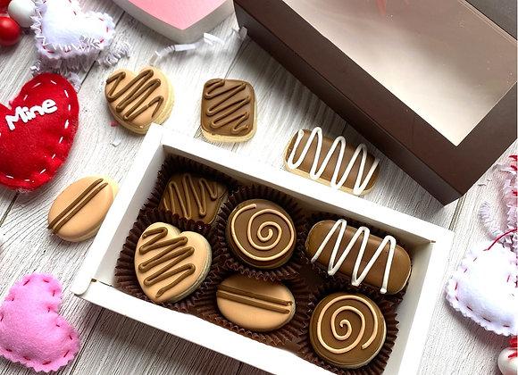 "Sugar Cookie ""Box of Chocolates"""