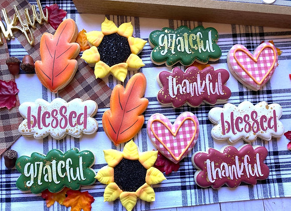 Grateful, Thankful, Blessed Assortment