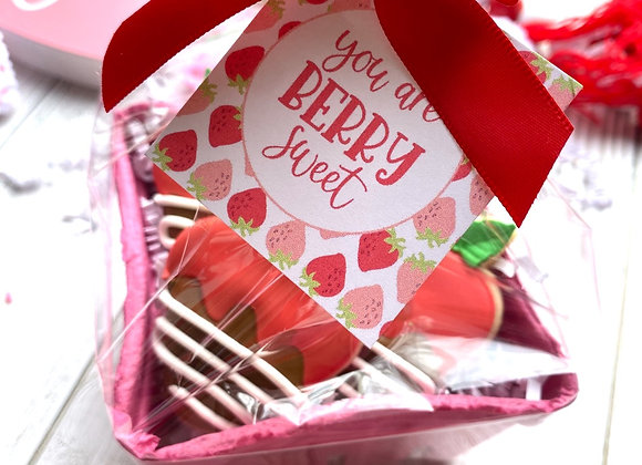 """""""You're Berry Sweet"""" Mini Cookie Gift Pack"""