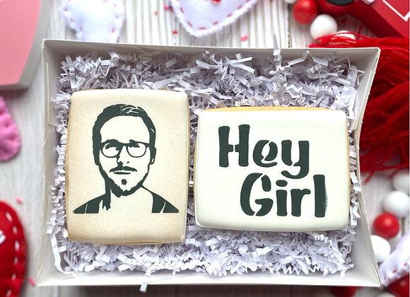 """""""Hey Girl"""" Cookie Gift Set"""