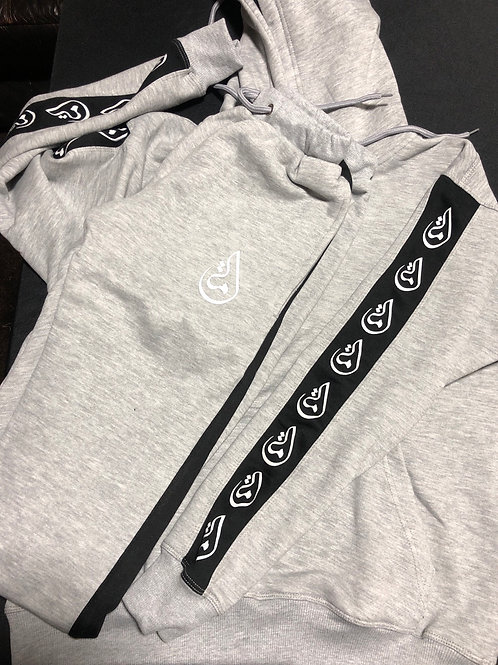 """Gray"" Ummah Tape Logo - HOODIE ONLY"