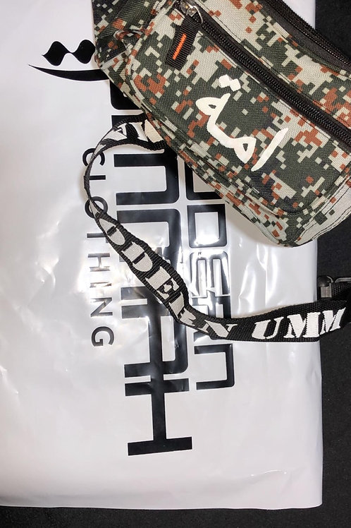 Gray/Green Digital Camouflage - Waist Bag