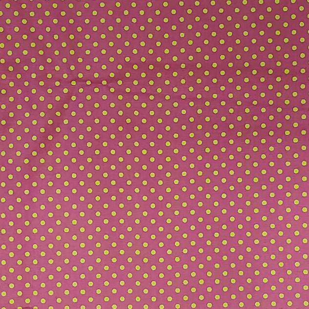 Poa - Rosa Pink _ Bolinhas Verdes P.jpg