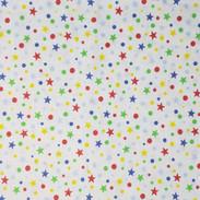 Miudezas - Estrelas coloridas-Fundo Bran