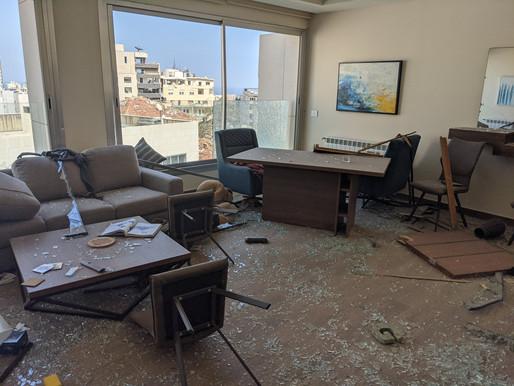 #newsflash   καταστροφή των κεντρικών σιλό και 300 χιλ. άστεγοι