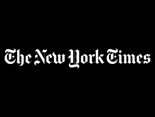 NEW YORK TIMES: Ακόμη ένα πρωτοσέλιδο που γράφει ιστορία.