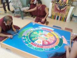 Birdi Sinclair - Peace Monks - Sand Mandala
