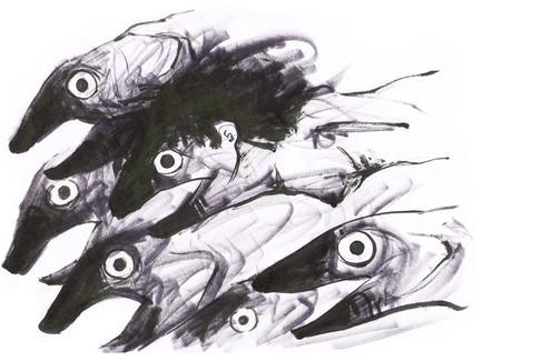 Idea sketch: Sea Child