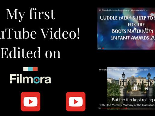 My First YouTube Video! Edited on Filmora