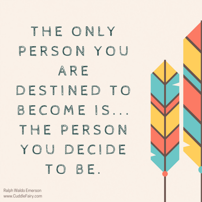 the person you are destined to become law of attraction
