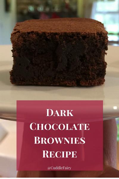 dark chocolate brownies 8