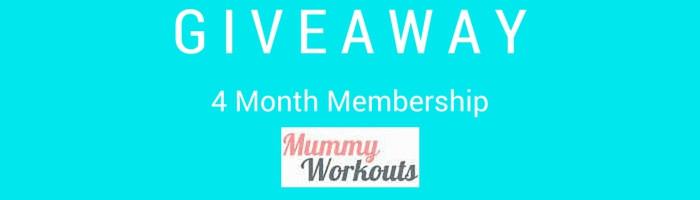 mummy workouts giveaway