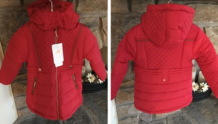 mayoral girls red coat