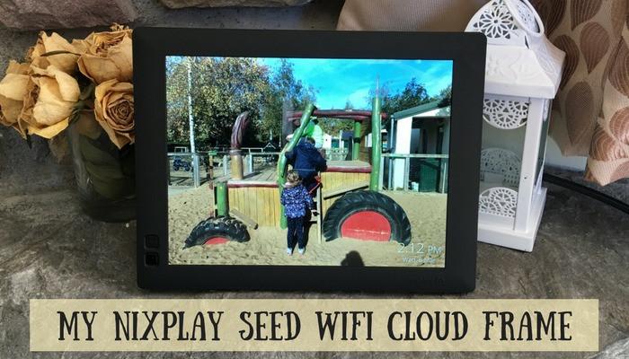 my nixplay seed wifi cloud frame