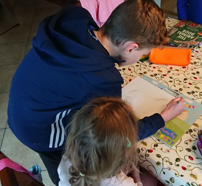 Creating our Dream Horse with Petplan insurance - drawing the outline