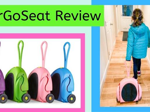 CarGoSeat Review – The Travel Seat / Wheelie Bag