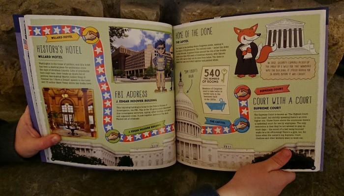 Lonely Planet Kids Books washington dc city trails
