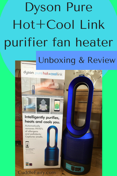Dyson Pure Hot+Cool Link purifier fan heater