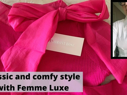 Classic and comfy style with Femme Luxe