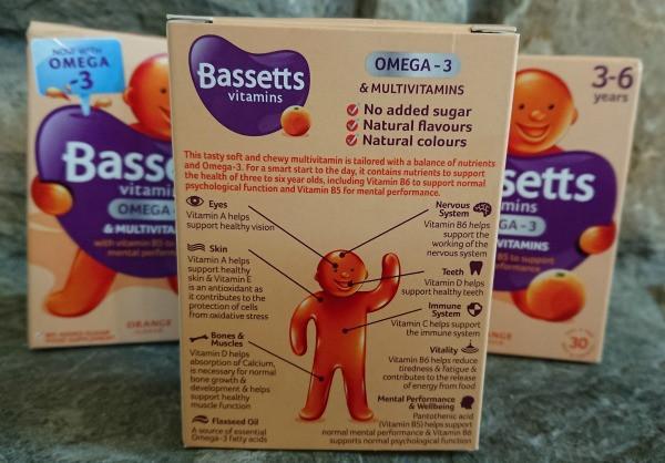 bassetts omega-3 vitamins