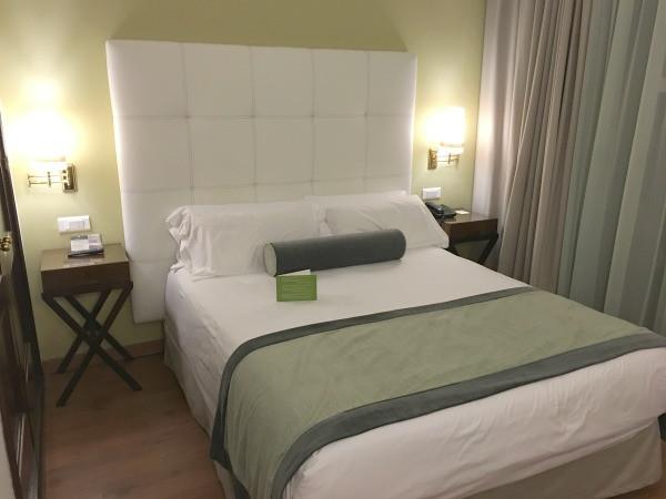 hotel fuerte marbella sea view room, bed