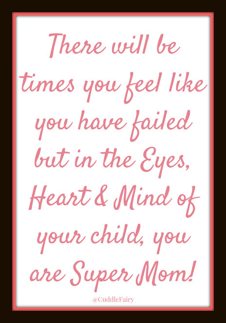 super mom quote
