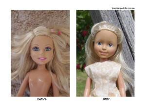 TC before after blonde