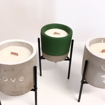 Botanical Wooden Wick Soy Candles