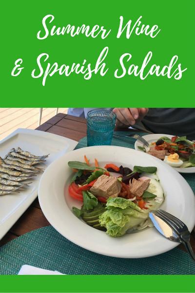 Summer Wine & Spanish Salads pinterest