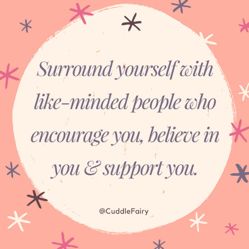 surround yourself with like-minded people quote